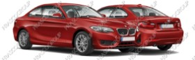 BMW 2 SERIES - F22 / F23 - COUPE'/CABRIO Mod.01/14-04/17 (BM250)