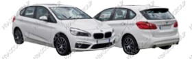 BMW 2 SERIES - F45 / F46- ACTIVE/GRAN TOURER Mod.11/14-02/18 (BM200)