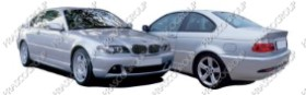 BMW 3 SERIES - E46 COUPE' Mod.09/03-09/06 (BM022)