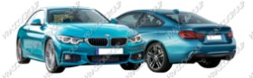 BMW 4 SERIES - F32/F33/F36 LCI - M-TECH Mod.03/17- (BM405)