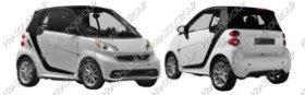 SMART FORTWO Mod.04/12-08/14 (ME307)